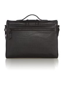 Penpar centre seam messenger bag