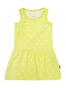 Girls Dress With Bows
