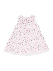 Girls Sleeveless Floral Baby Doll Dress
