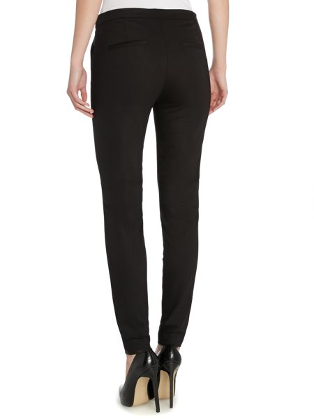 Y.A.S. Cigarette trousers with side zip