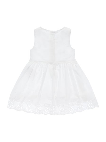 name it Girls Dress With Embroidery