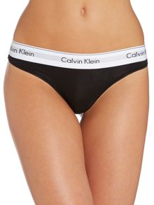 Modern Cotton Thong