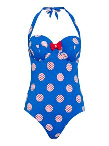 Lepel Minnie halter swimsuit