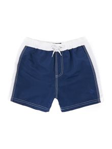 cut and sew swim shorts