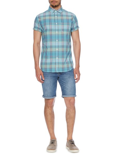 Criminal Jimmy Short Sleeved Check Shirt