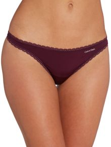 Calvin Klein Seductive comfort tailored thong
