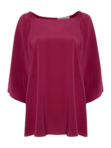Marella Round neck 3/4 sleeve top