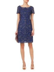 Taya embroidered dress