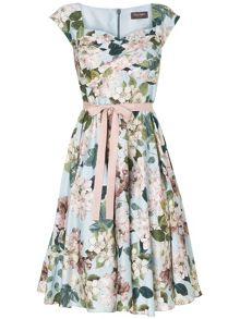 Adele blossom fit and flare dress