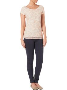 Phase Eight Suze spot lace top