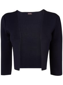Salma structured knit jacket
