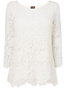 Shelley crochet lace blouse