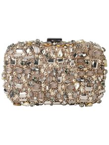 Rita jewelled box clutch bag