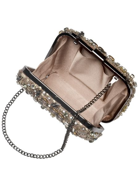 Phase Eight Rita jewelled box clutch bag