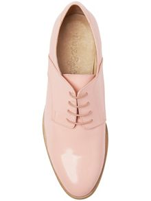 Hailey leather lace up shoes