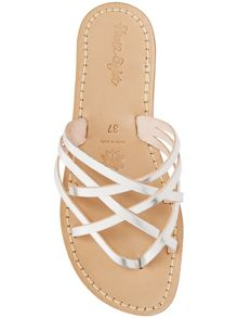 Maddie leather sandals