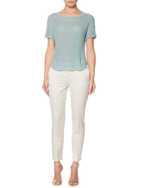 Marella Knitted t-shirt with sparkle detail