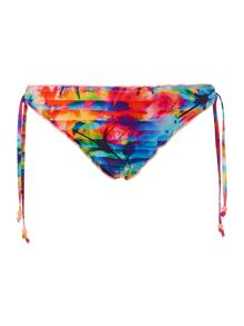 Sonic bloom hipster tie side brief