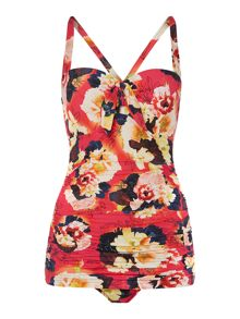 Kabuki bloom maillot swimsuit