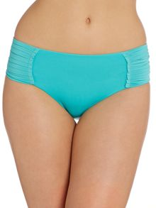 Seafolly Goddess pleated retro brief