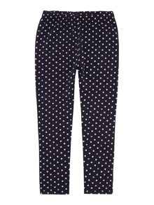 Girls Spots And Stars Leggings