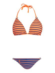 PortStripe Triangle Bikini Top & Riley Ring Brief