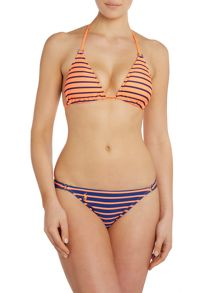 Polo Ralph Lauren PortStripe Triangle Bikini Top & Riley Ring Brief