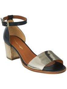 Talia leather block heel sandals