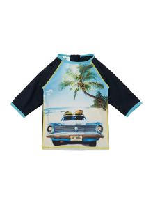 Boys Uv Rash Guard
