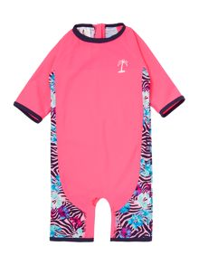 Girls Longsleeved Swimsuit