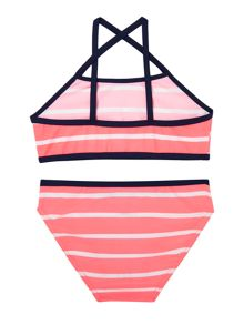 Girls Striped Tankini