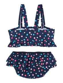 Girls Polka Dot Tankini