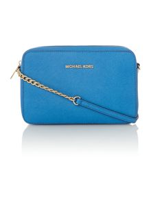 Jetset Travel blue cross body bag