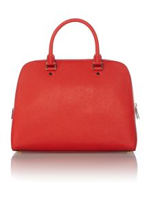 Jet Set Travel red large dome bag
