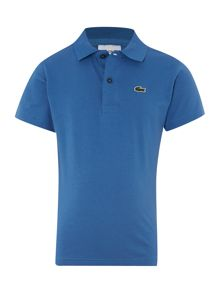 Lacoste Boys short-sleeved jersey polo
