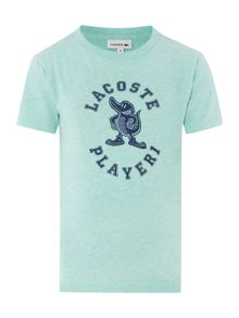 Boys lacoste player tee