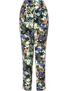 Acacia printed soft trousers