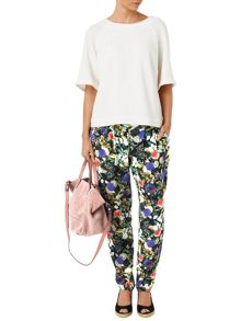 Phase Eight Acacia printed soft trousers