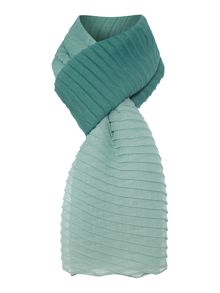 Pleated Ombre Scarf