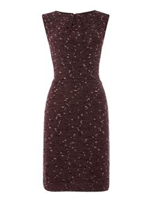 Boucle workwear dress