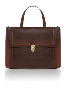 Marley triple compartment handbag