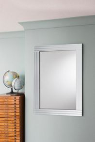 Triple bevel mirror 91 x 66 cm