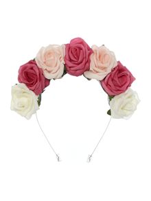 Crown and Glory Whole Lotta Rosie Strawberries & Cream Headband