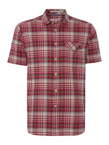 Argent Checked Short Sleeve Shirt
