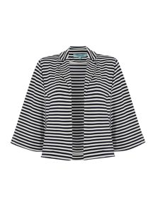 Stripe Jersey Cover Up