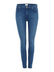 Hudson Jeans Barbara high waist super skinny jean in superior