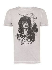 Keith Richards Graphic Print T-Shirt