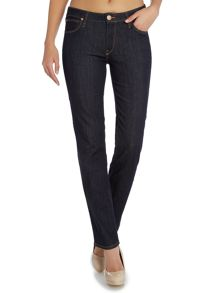 Marion straight leg jean in one wash