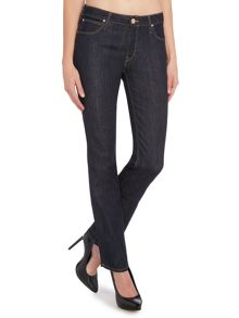 Lee Marion straight leg jean in one wash