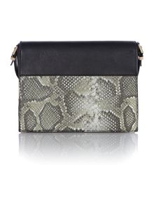 Sofia metal bar crossbody